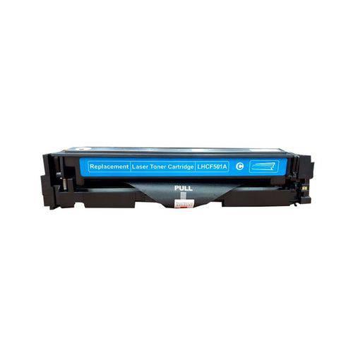 Toner Compatível HP 202A CF501A M254 M280 M281 - Ciano - 1.3k