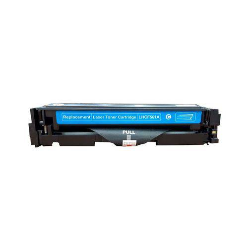 Toner Compatível HP 202A CF501A M254 M280 M281 - Ciano - 1.3k  - INK House