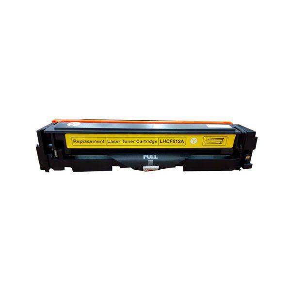 Toner Compatível HP 204A CF512A M154 M180 M181 - Amarelo - 0.9k