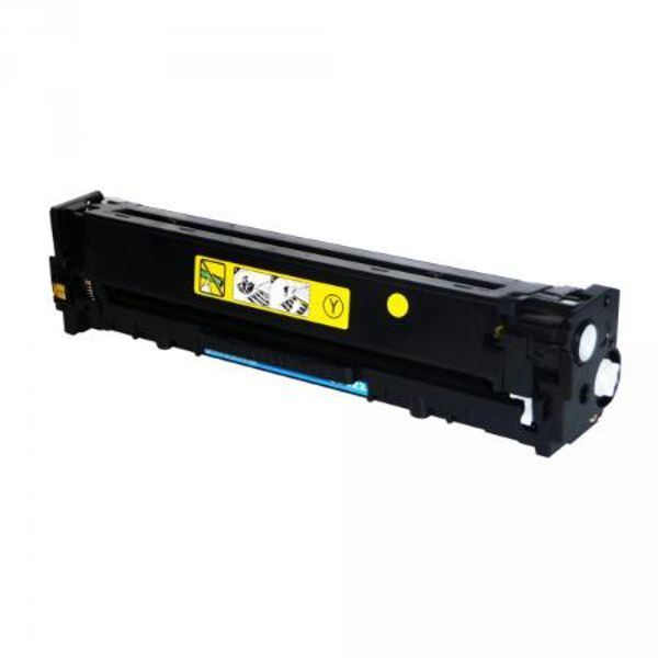 Toner Compatível HP 125A 128A 131A CB542A CE322A CF212A - Amarelo - 1.4k