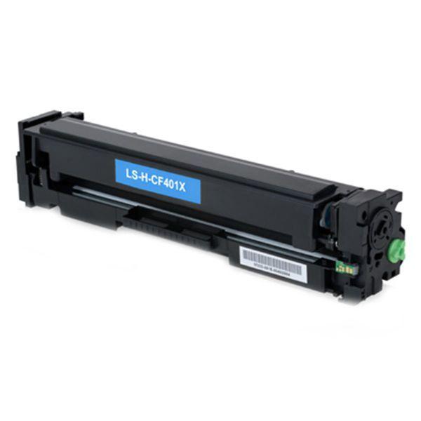 Toner Compatível HP 201X CF401X M252N M252DW M277DW - Ciano - 2.3k  - INK House