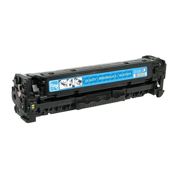 Toner Compatível HP 312A CF381A - Ciano - 2.8k