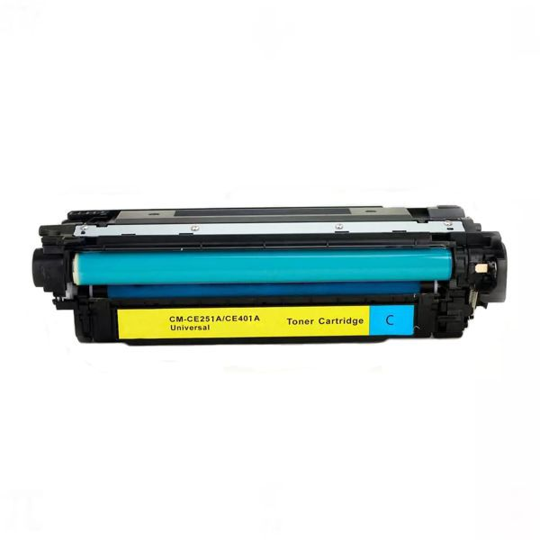 Toner Compatível HP 504A CE251A CE401A CP3525 CM3530 M551 M570 M575 - Ciano - 6k  - INK House
