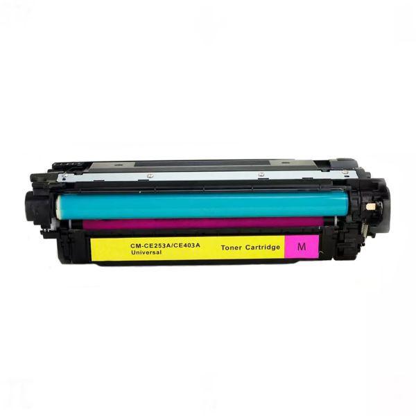 Toner Compatível HP 504A CE253A CE403A CP3525 CM3530 M551 M570 M575 - Magenta - 6k