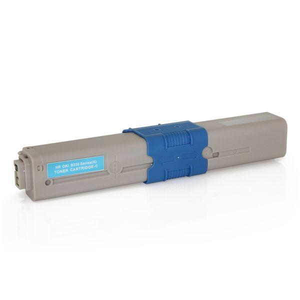 Toner Compatível Okidata 469803 469801 C310 C330 C510 C530 MC351 MC361 MC561 - Ciano - 3k  - INK House