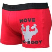 Boxer Cotton com Silk Gell Underwear