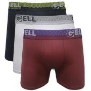 Boxer microfibra c/03 Gell Underwear