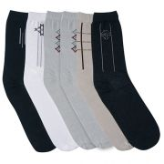 Meia Clássica Gell Underwear C/6