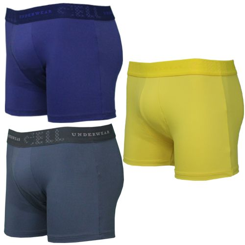 Boxer Microfibra Gell Underwear c/03