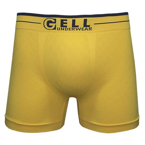 Boxer Sem Costura C/1 Gell Underwear