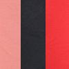 Salmão/Preto/Vermelho