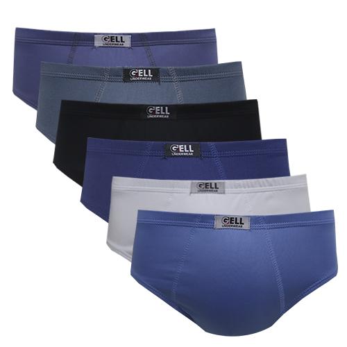 Slip Microfibra Elástico Embutido C/6