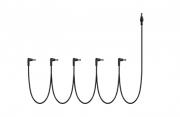 Cabo Multiplug P/ fonte pedal 6 plugs P4 165 cm - CM6 - LANDSCAPE