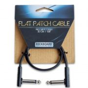 CABO P/ PEDAL 30CM FLAT PATCH CABLE RBOCABPCF30BLK - ROCKBOARD