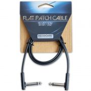 CABO P/ PEDAL 60CM FLAT PATCH CABLE RBOCABPCF60BLK - ROCKBOARD
