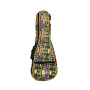 CAPA BAG UKULELE TENOR ESTAMPA COLORIDA UKT-CL CUSTOM SOUND