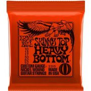 ENCORDOAMENTO 010.052 2215 P GUITARRA ERNIE BALL SKINNY TOP HEAVY BOTTOM