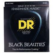 ENCORDOAMENTO BAIXO 4 ENCORDOAMENTOS BLACK BEAUTIES BKB-45 - DR STRINGS