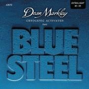 ENCORDOAMENTO CONTRA BAIXO BLUE STEEL EXTRA LIGHT 4 CORDAS 40-95 2670 - DEAN MARKLEY
