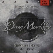 ENCORDOAMENTO GUITARRA 7 CORDAS 09-56 2508C - DEAN MARKLEY