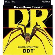 ENCORDOAMENTO GUITARRA 7 CORDAS  DROP DOWN TUNING 0.10 DDT7-10 - DR STRINGS