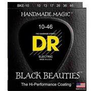 ENCORDOAMENTO GUITARRA BLACK BEAUTIES 0.10 BKE-10 - DR STRINGS