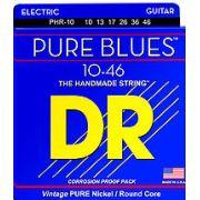 ENCORDOAMENTO GUITARRA PURE BLUES 010 PHR-10 - DR STRINGS