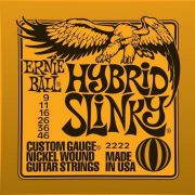 Encordoamento Hibrido 09 P/ Guitarra 2222 Ernie Ball