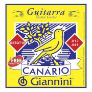 ENCORDOAMENTO PARA GUITARRA 0.010?, SÉRIE CANÁRIO - GESGT10 - GIANNINI