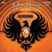 ENCORDOAMENTO VIOLÂO AÇO BLACKHAWK 10-47 8010 - DEAN MARKLEY