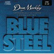 ENCORDOAMENTOS GUITARRA 7 CORDAS BLUE STEEL LTHB 10-60 - 2558A - DEAN MARKLEY