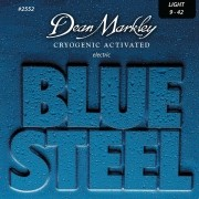 ENCORDOAMENTOS GUITARRA BLUE STEEL 09-42 2552 - DEAN MARKLEY