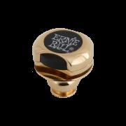 STRAP LOCK PARA GUITARRA COM TRAVA PARA CORREIA SUPER LOCKS DOURADO P04602 - ERNIE BALL