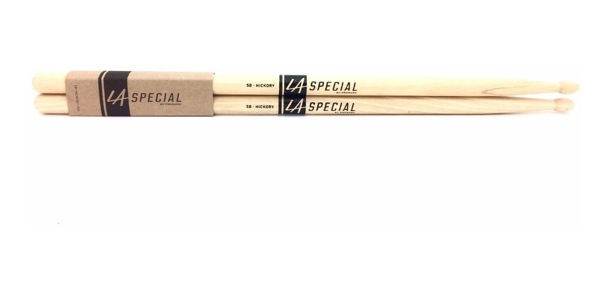 6 Pares Baqueta P/ Bateria 5b Hickory La5bw - La Special