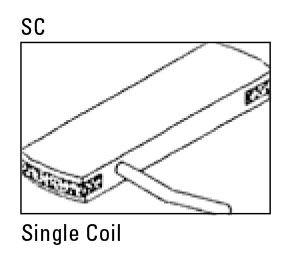 Captador Para Violão Single Coil Woody 11500-30SA-3SC - SEYMOUR DUNCAN