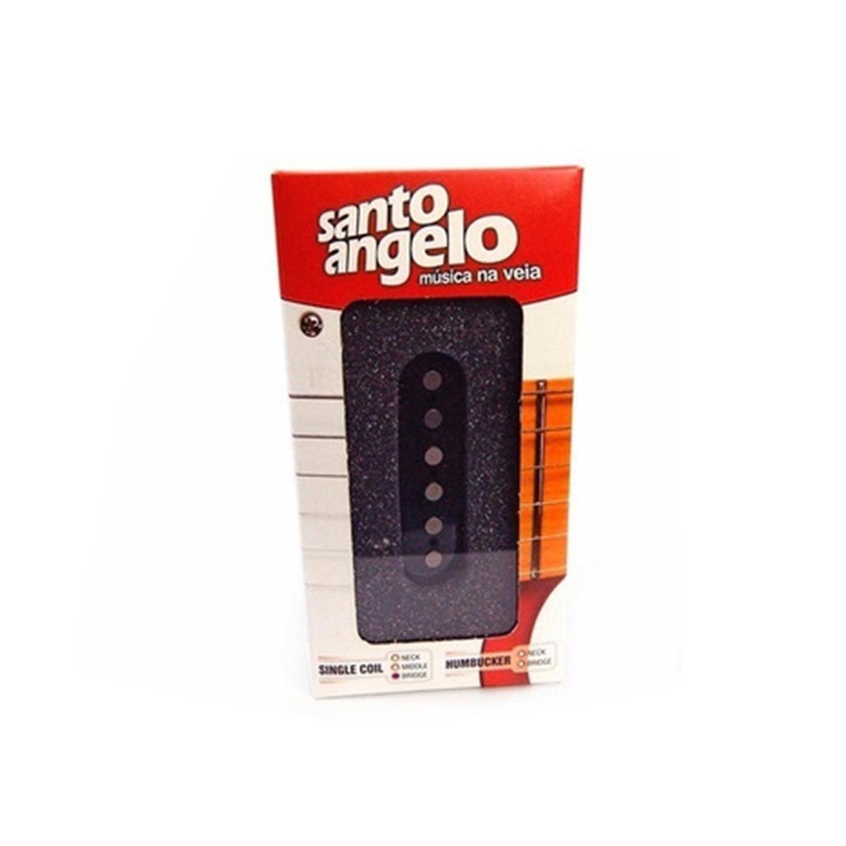 CAPTADOR SINGLE GUITARRA TELECASTER PONTE PRETO - STO ANGELO