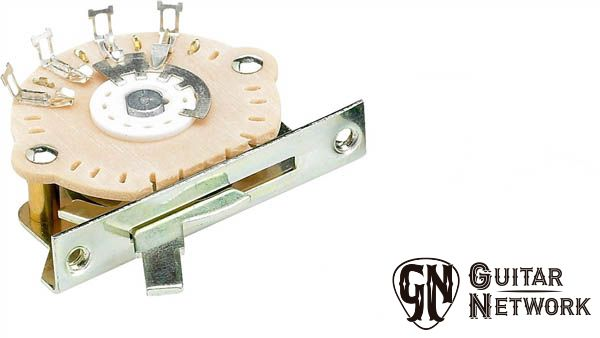 Chave 5 Posicoes Fender Strato Switch - Oak Grigsby