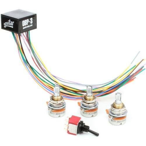 Circuito Pré-amplificador Aguilar Obp-3tk