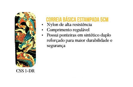 CORREIA P/ VIOLÃO E GUITARRA DRAGÃO CSS 1 DR - CUSTOM SOUND