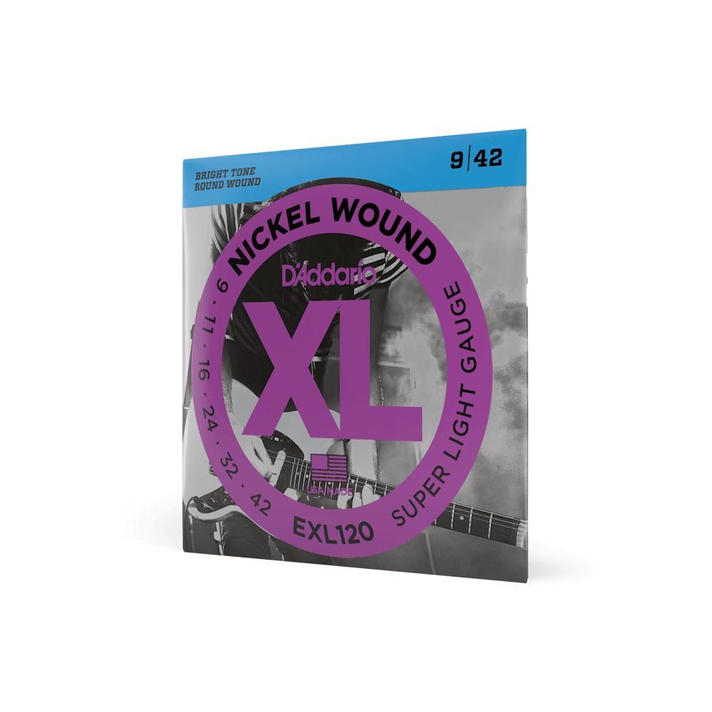 ENCORDOAMENTO GUITARRA 009 EXL120-B - DADDARIO