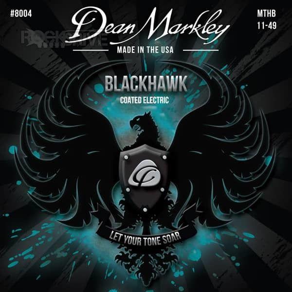 ENCORDOAMENTO GUITARRA BLACKHAWK MEDIUM 11-49 8004 - DEAN MARKLEY
