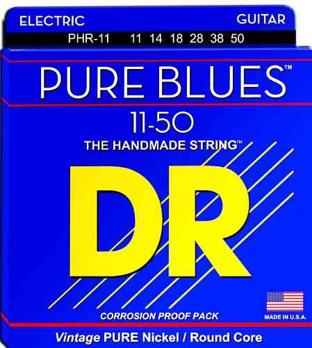 ENCORDOAMENTO GUITARRA PURE BLUES 0.011 PHR-11 - DR STRINGS