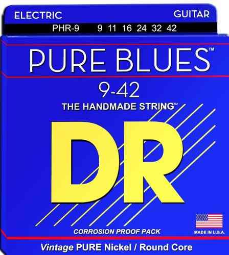 ENCORDOAMENTO GUITARRA PURE BLUES 09 PHR-9 - DR STRINGS