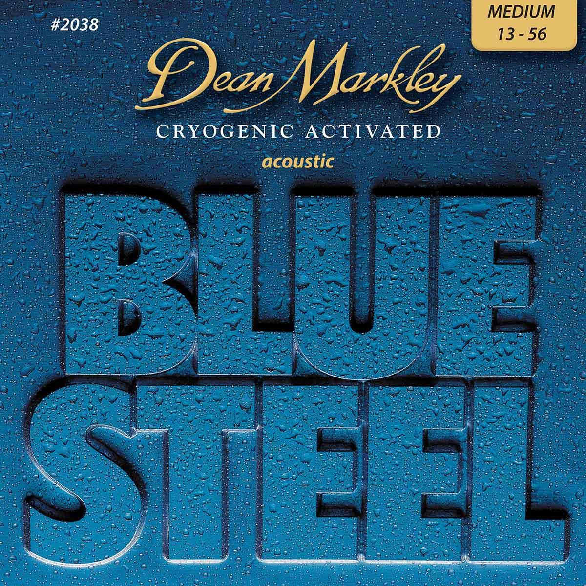 ENCORDOAMENTO P/ VIOLÂO BLUE STEEL 13-56 2038 - DEAN MARKLEY