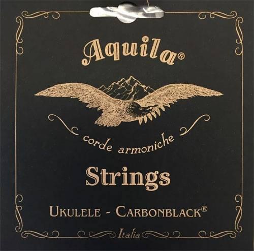 ENCORDOAMENTO UKULELE CARBONBLACK TENOR LOW G - AQUILA
