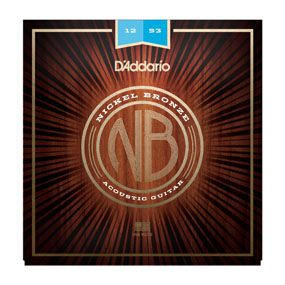 ENCORDOAMENTO VIOLÃO AÇO NICKEL BRONZE NB1253 - DADDARIO