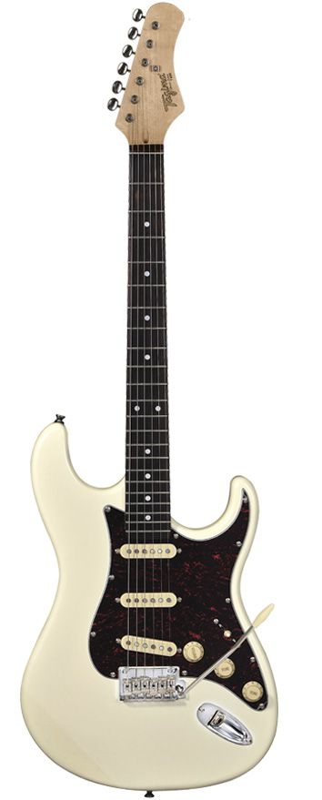 Guitarra Tagima T-635 Classic (Branco vintage escudo tortoise) - TAGIMA