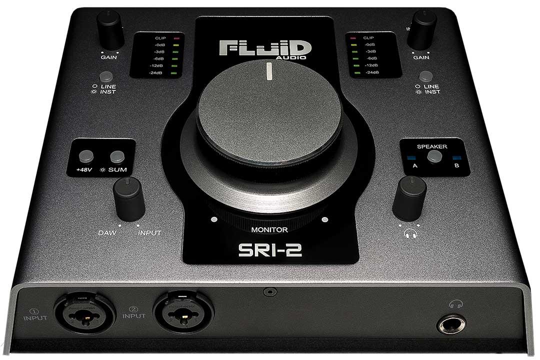 INTERFACE DE AUDIO 2X2 192KHZ 24BIT SRI-2 - FLUID AUDIO