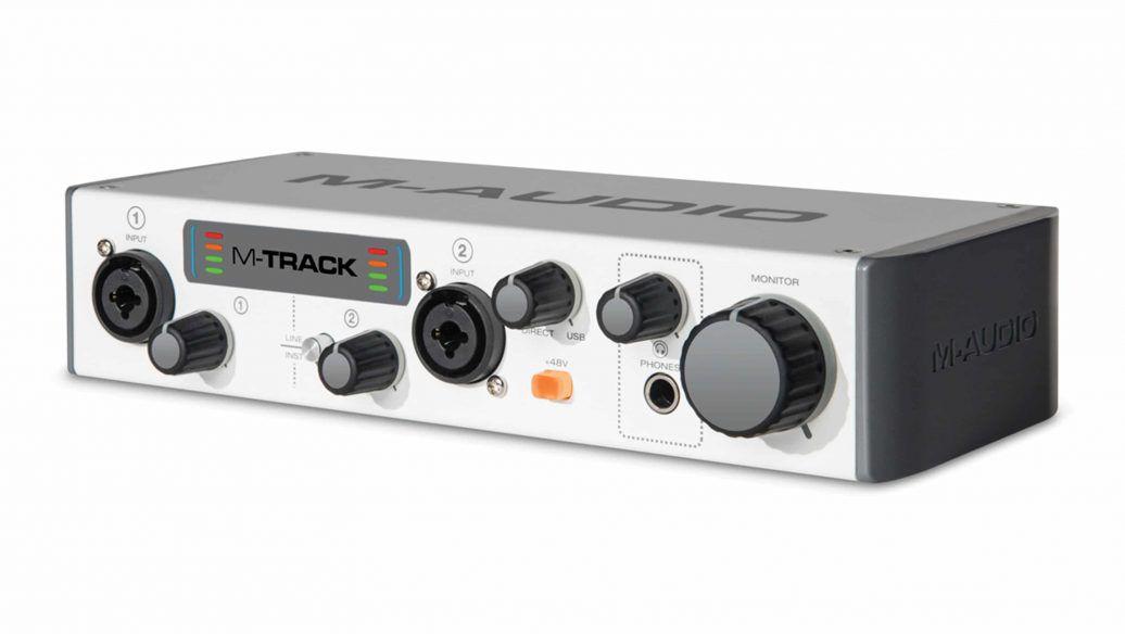 Interface de Audio Gravação 2 Canais MTRACKII - MAUDIO