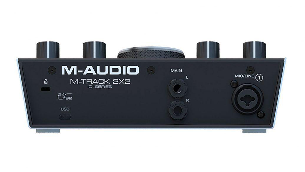 INTERFACE DE AUDIO PARA GRAVACAO M-TRACK 2 × 2 M AUDIO